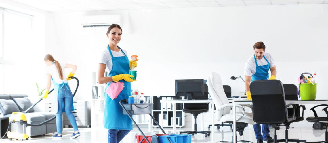 Reinigungs und Pflegeprodukte für Immobilien